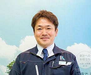 工事部 課長 黒川公博