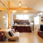 大好きな雑貨とカフェを活かしたコンパクトな平屋
